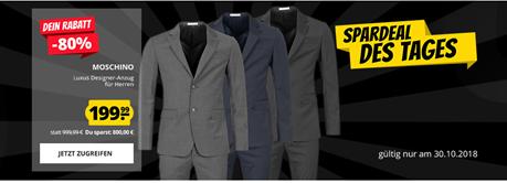 Bild zu SportSpar: MOSCHINO Herren Designer Anzug für je 199,99€