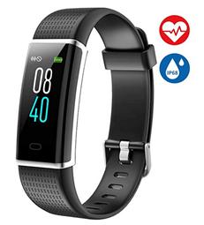 Bild zu AISIRER Fitness-Tracker mit Pulsmesser (Wasserdicht IP68, Farbbildschirm, Schrittzähler, Schlafmonitor) für 20,39€