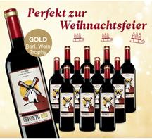 Bild zu vinos: 12 Flaschen Cepunto Oro Tempranillo für 35,90€ + eine Flasche Dominio de Lázaro Crianza 2016 gratis