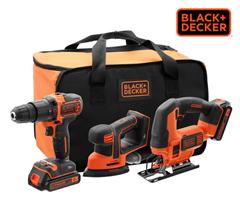 Bild zu Black+Decker BCK31S1S-QW Kombiset für 138,90€ (Vergleich: 178,98€)