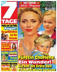 """Bild zu 13 Ausgaben der Zeitschrift """"7 Tage"""" für 27,30€ + 27,30€ Verrechnungsscheck"""