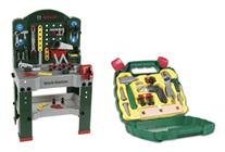 Bild zu Theo Klein Bosch Werkzeugbank + Werkzeugkoffer Ixolino für 59,98€ (Vergleich: 79,94€)