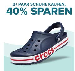 Bild zu Crocs: 40% Rabatt beim Kauf von zwei Paar Schuhen + kostenlose Lieferung