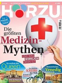 """Bild zu [Top] Jahresabo (52 Ausgaben) der TV-Zeitschrift """"Hörzu"""" ab 99,40€ + bis zu 100€ Prämie"""