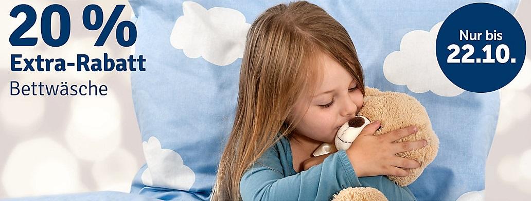 Bild zu myToys: 20% Extra-Rabatt auf Bettwäsche