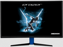 MEDION-Erazer-X57425-27-Zoll-Full-HD-Gaming-Monitor-(4-ms-(Grey-to-Grey)