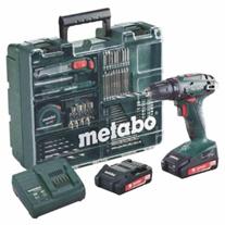 Metabo Akku-Bohrschrauber BS 18 Set Mobile Werkstatt 18V inkl 2x2 0 Ah Akkus eBay