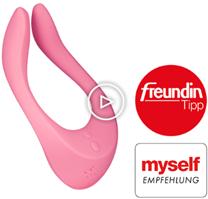 Bild zu Eis.de: Satisfyer 'Multifun 2' mit über 14 Anwendungsmöglichkeiten + 6 Gratisartikel für 12,96€ inkl. Versand (Vergleich: 29,99€)