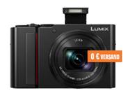 PANASONIC DC-TZ202 LEICA Digitalkamera, 20 Megapixel, 15x opt Zoom, Schwarz