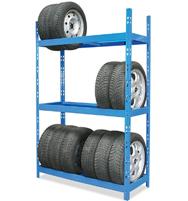 Bild zu Plus: Reifenregal mit 3 Ebenen für 69,99€ inkl. Versand (Vergleich: 89,95€)