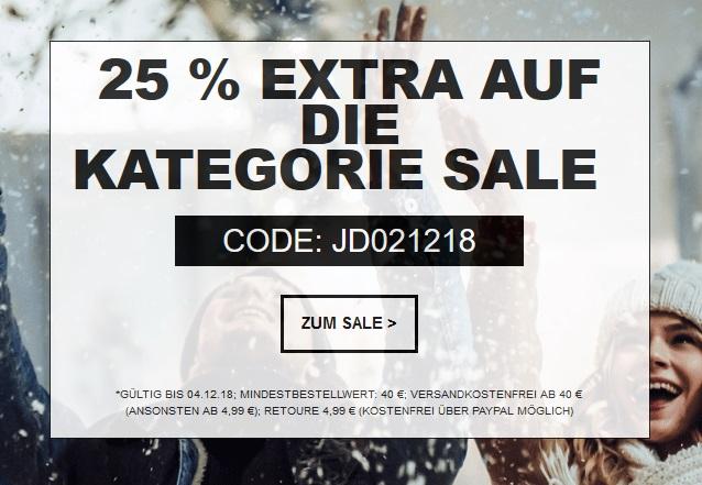 Bild zu [nur noch heute] Jeans Direct: Bis zu 70% Rabatt im Sale + 25% Extra-Rabatt durch Gutscheincode