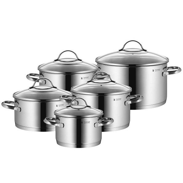 Bild zu 5-teiliges Kochtopfset  WMF Menerva Plus für 99€ (Vergleich: 143,95€)