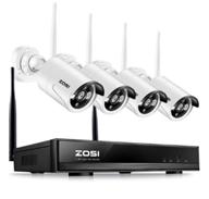 ZOSI 4CH 960P HD Funk Video Überwachungssystem Wireless WLAN Überwachungskamera