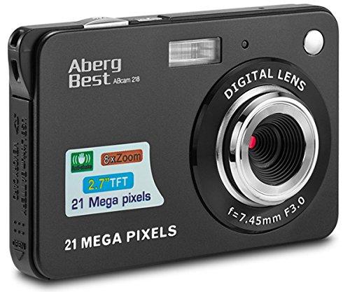 Bild zu AbergBest 21 Megapixel Digitalkamera mit 2,7 Zoll Display für 31,99€