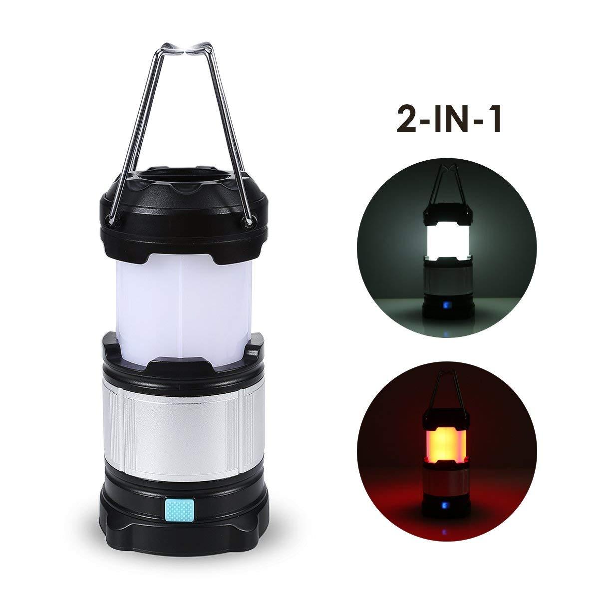 Bild zu [Prime] TryLight LED-Campinglampe mit 4000 mAh Power Bank für 12,99€