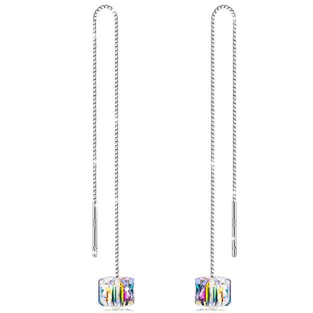 Bild zu Alex Perry Damen Ohrhängern mit Swarovski Steinen für 9,99€