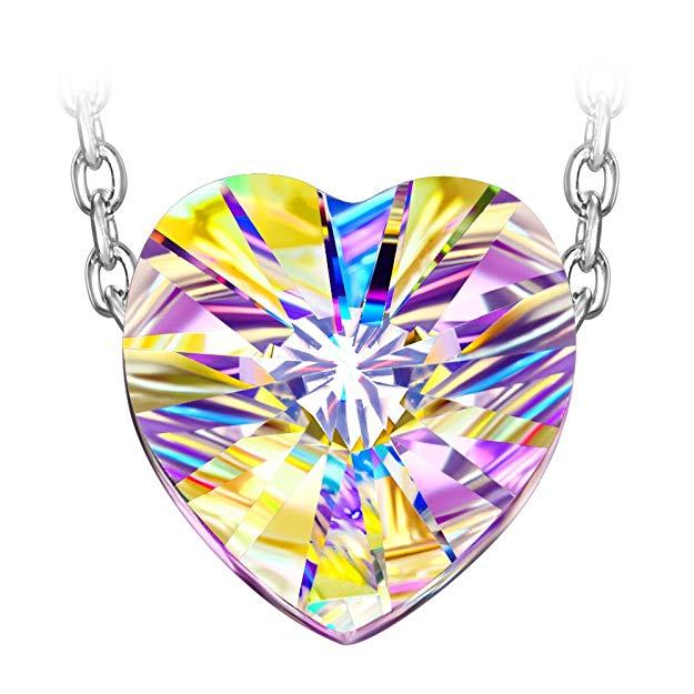 Bild zu Susan Y Aurora Damen Halskette mit Herz-Anhänger für 9,99€