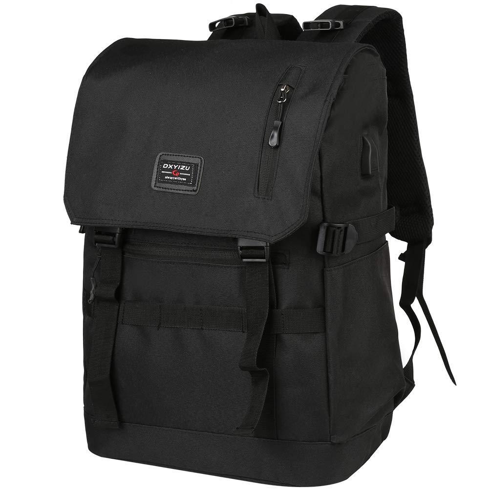 Bild zu Vbiger Laptop Rucksack mit USB Ladeanschluss und Kopfhöreranschluss für 11,98€