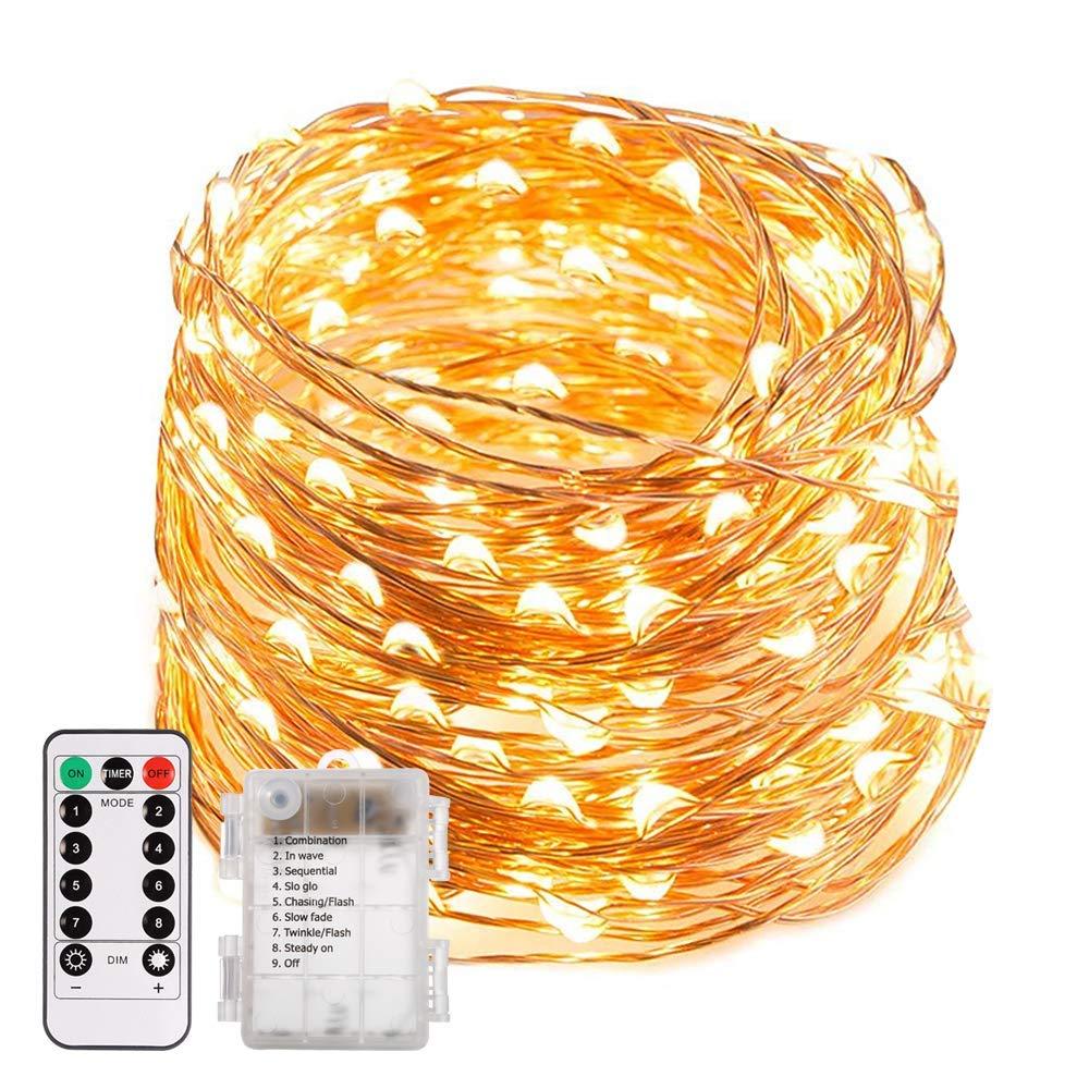 Bild zu [Prime] 200 LED Lichterkette mit Fernbedienung und Timer für 10,79€