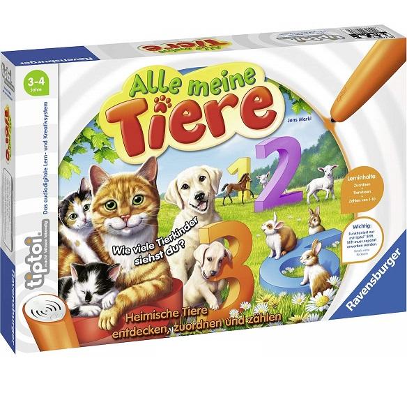 Bild zu Ravensburger TipToi Alle meine Tiere für 13€ (Vergleich: 16,94€)