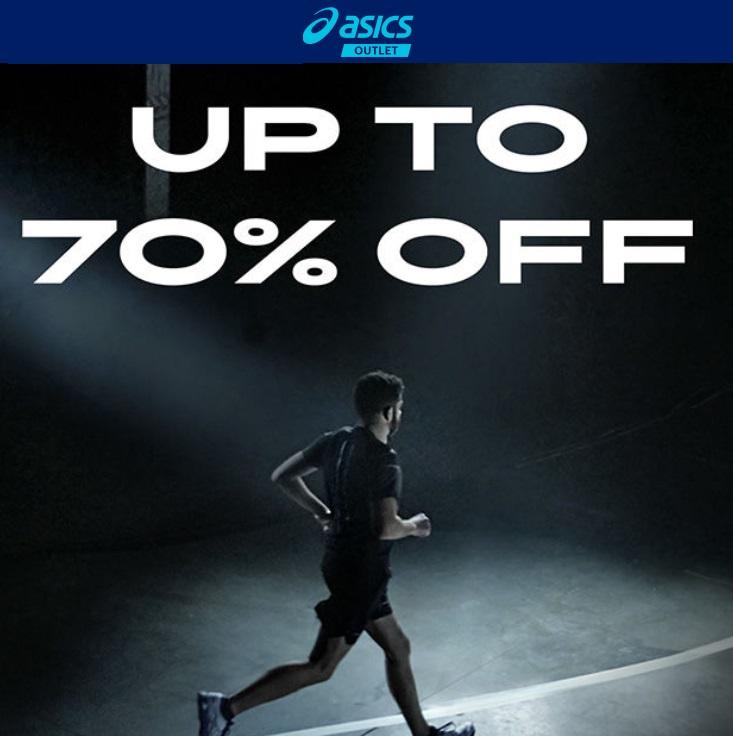 Bild zu ASICS Outlet: Bis zu 70% Rabatt im Sale + 10% Extra-Rabatt + gratis Versand