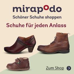 Bild zu Mirapodo: 15% Rabatt auf alle Artikel im Sortiment & kostenloser Versand