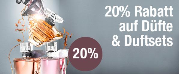 Bild zu Galeria Kaufhof: 20% Rabatt auf Düfte und Duftsets