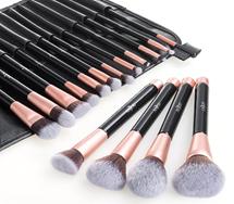 Bild zu Anjou Make-up Pinselset (16 Kosmetikpinsel + Etui) für 12,99€
