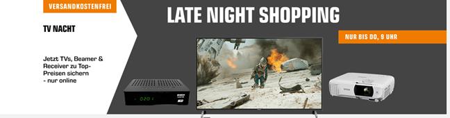 "Bild zu Saturn Late Night Shopping ""TV Nacht"", z.B. SHARP LED TV (109 cm (43 Zoll), Full-HD, SMART TV) für 299€ (Vergleich: 398,90€)"