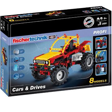 Bild zu FischerTechnik Cars & Drives (516184) für 44,99€ (Vergleich: 51€)