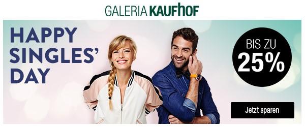 Bild zu Galeria Kaufhof Happy Singles' Day, so z.B. 15% Rabatt auf Kosmos und Ravensburger Artikel