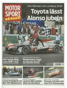 """Bild zu Jahresabo (50 Ausgaben) der Zeitschrift """"Motorsport Aktuell"""" für 140€ + 110€ BestChoice Gutschein"""