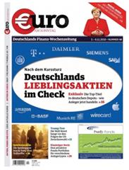 """Bild zu 3 Monate (13 Wochen) """"Euro AM SONNTAG"""" Schnupperabo für 58,50€ + 58,50€ Verrechnungsscheck als Prämie"""