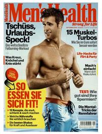 Bild zu Jahresabo (10 Ausgaben) Men´s Health ab 53€ + 40€ Verrechnugsscheck als Prämie