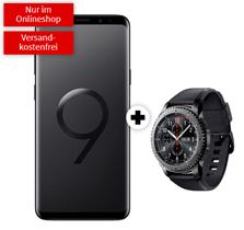 Bild zu [Super] Samsung Galaxy S9+ inkl. Samsung Gear S3 classic (einmalig 29€) im Telekom Tarif mit 2GB Datenflat + Allnet-Flat für 26,99€/Monat