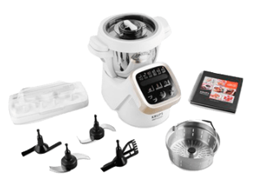 Bild zu KRUPS HP5031 Prep & Cook Küchenmaschine mit Kochfunktion für 399€ (Vergleich: 477€)