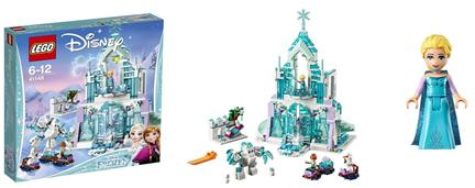 Bild zu LEGO Disney Princess 41148 – Elsas magischer Eispalast für 39,99€ (Vergleich: 50,99€)