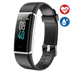 Bild zu AISIRER Fitness Armband (IP68 wasserdicht, Farbdisplay, 14 Modi, Herzfrequenzmesser, WhatsApp kompatibel usw.) für 20,39€