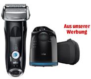 Bild zu Herren Elektrorasierer Braun Series 7 7880CC Wet & Dry für 129€ (Vergleich: 162,99€) + 20€ Geld zurück