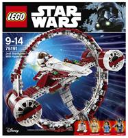Bild zu LEGO Star Wars Jedi Star Fighter 75191 für 89,99€ (Vergleich: 117,88€)