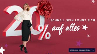 Bild zu Heine: 20% Rabatt auf (fast) alles + kostenlose Lieferung für Neukunden