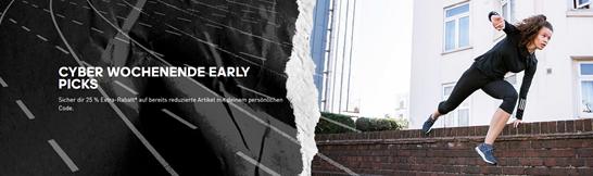 Bild zu adidas: 25% Rabatt auf ausgewählte Artikel + kostenlose Lieferung