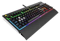 Bild zu Corsair STRAFE Gaming Tastatur mit RGB Beleuchtung (Cherry MX Red) für 115,89€ (Vergleich: 168,94€)