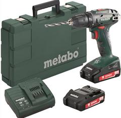 Bild zu Metabo Akku-Bohrschrauber BS 18 18V 2x LiPower-Akkus/Ladegerät im Koffer für 89,95€ (Vergleich: 129,99€)