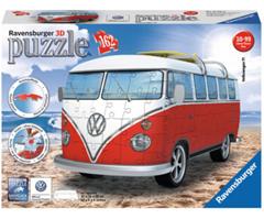 Bild zu RAVENSBURGER 3D Puzzle Volkswagen T1 Surfer Edition (162 Teile) für 15,99€ (Vergleich: 20,94€)