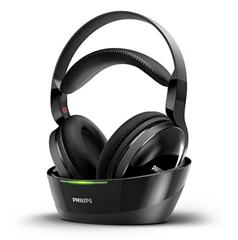 Bild zu Philips SHC8800/12 Over-Ear Funkkopfhörer (offen, 100m Reichweite) schwarz für 54,99€ (Vergleich: 76,90€)