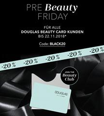 Bild zu Douglas: 20% Rabatt auf nicht reduzierte Artikel (mit Douglas Beauty Card)