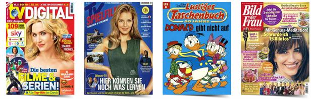 Bild zu [bis 15 Uhr] Leserservice Deutsche Post: verschiedenen 6-Monats-Abos (ab 19,50€) & Prämien im Wert von bis zu 20€ mit dazu