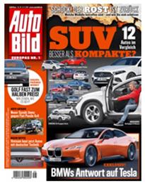 """Bild zu 3 Monate (13 Ausgaben) """"Auto Bild"""" Schnupperabo für 29,90€ + 25€ Amazon Gutschein als Prämie"""