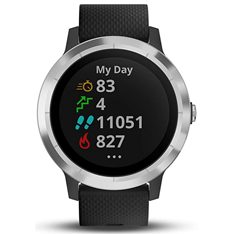 garmin v voactive 3 gps fitness smartwatch. Black Bedroom Furniture Sets. Home Design Ideas